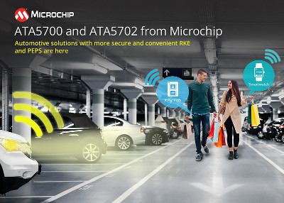 Microchip Releases New Low-Power Vehicle Access Solution For Smart Keys