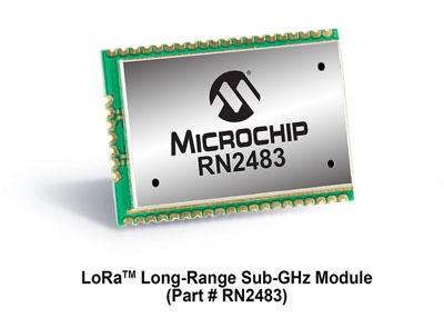 New LoRa Wireless Networking Module from Microchip