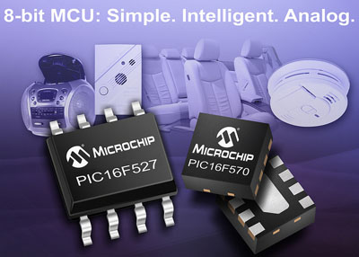 New PIC Microcontrollers with Integrated Op-Amps