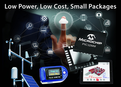 Microchip Launches New Range of PIC32 Microcontrollers With Core Independent Peripherals