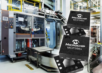 Microchips New Fast, High-Accuracy Analog-to-Digital Converter Families