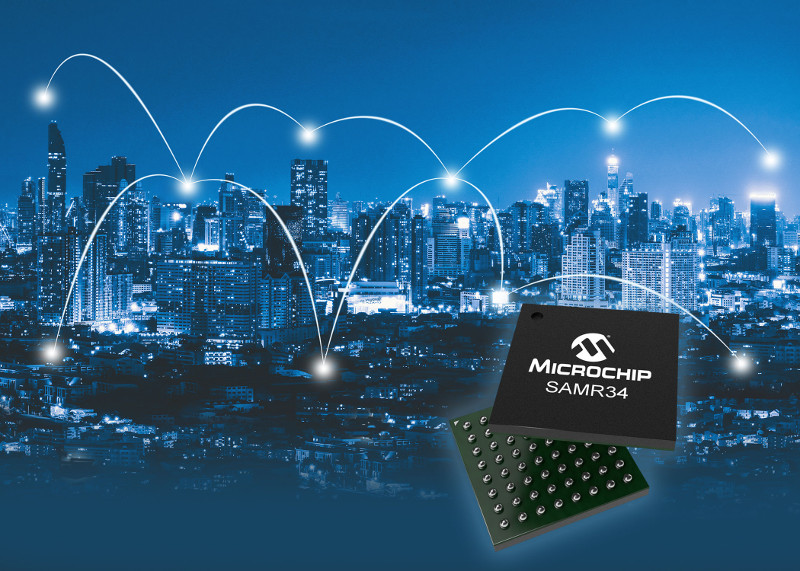 Microchip Releases LoRa System-In-Package Solution