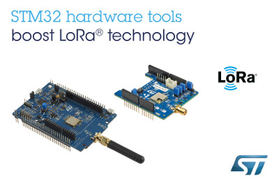 STMicroelectronics Release New LoRa Technology Boards for Long-Range IoT Connectivity