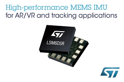 New MEMS Inertial Module from STMicroelectronics