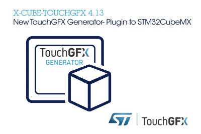 ST Adds New Powerful Features to the TouchGFX Software Framework