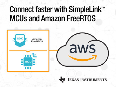 TI Integrates the new Amazon FreeRTOS into its SimpleLink™ MCU Platform