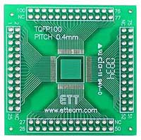 100 Pin TQFP to DIL Adapter