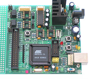 AT89C5131 USB Development Board