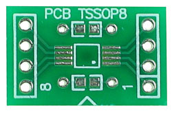 Front Side - 8 pin TSSOP Adapter