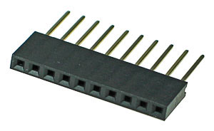 ARDHEAD10 - 10 Pin .100inch Arduino Stackable Header
