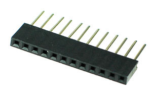 ARDHEAD12 - 12 Pin .100inch Arduino Stackable Header