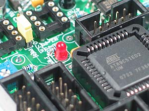 Click for Larger Image - Atmel AT89C51ED2 Microcontroller