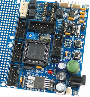 AT89C51RE2 Microcontroller, Real Time Clock and RS485 Bus Drivers