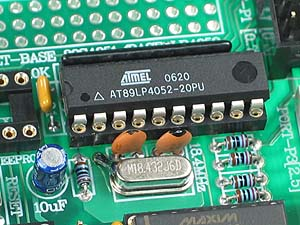 Click for Larger Image - AT89LP4052 Controller - AT89C51ED2 Microcontroller