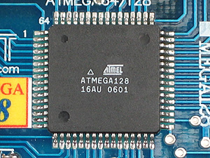Click for Larger Image - ATMega128 Microcontroller