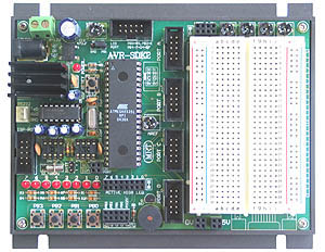 ATMega8535 Educational Board