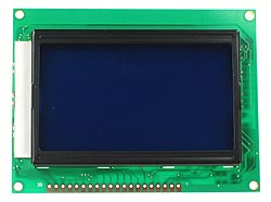 BLUE128X64LCD - 128x64 Blue Graphic LCD Display