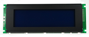 BLUE240X64LCD - Blue 240 x 64 Graphic LCD Display