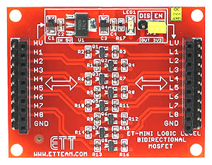 Click for Larger Image - Bi-Directional Logic Level Converter Mini Board