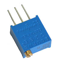 CERM5K - 5k 1/2W Vertical Square Cermet Potentiometer
