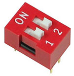 2 Position DIP Switch