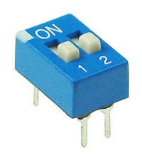 DIP2 - 2 Position DIP Switch