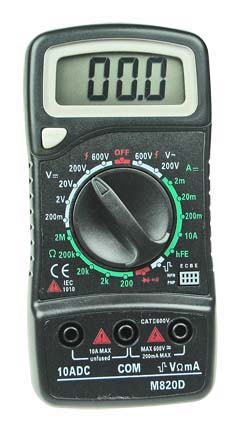 Data-Hold Digital Multimeter