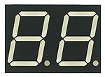 Double Seven-Segment LED Display