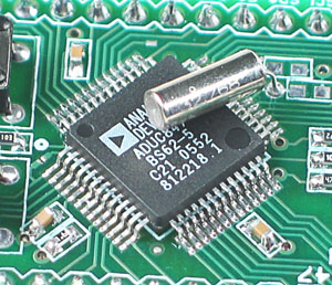Click for Larger Image - ET-ADUC847 Stamp Analog Devices ADuC847 Microcontroller