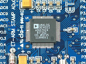 Click for Larger Image - ET-ADUC7024 Stamp ADuC7024 Microcontroller