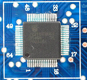 Click for Larger Image - ET-ARM Stamp LPC2119 Microcontroller