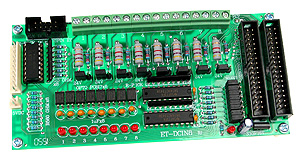DC Opto-Isolated 8 Input Board