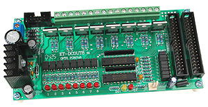 DC Opto-Isolated 8 Output Board