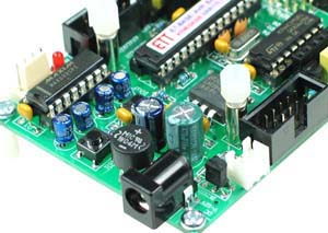 Click for Larger Image - ET-Easy 328 AVR Microcontroller