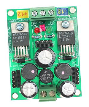 Click for Larger Image - Dual 12V Power Supply Mini Board