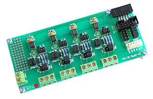 DC Opto-Isolated Input Board