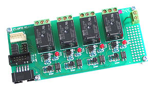 Opto-Isolated Relay Board