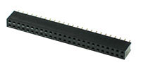 FHEADD50 - 50 Pin .100inch Straight Female Double Headers