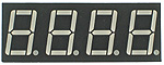Four Digit Seven-Segment Display