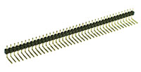 40 Pin .100inch Right Angle Male Header
