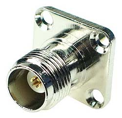 TNC Female Chassis Mount Connector