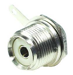 UHF Female Bulkhead Connector