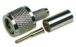 Mini UHF Male Crimp Connector