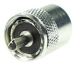 UHF Male Twist-On Connector