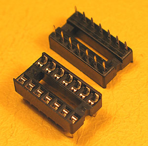 ICS14 - 14 Pin IC Socket