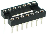 ICS14MT - 14 Pin Machine Tooled IC Socket