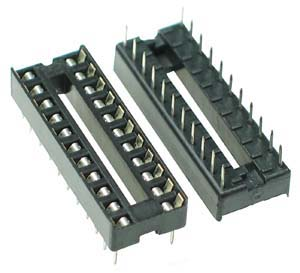 ICS22 - 22 Pin IC Socket