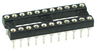 ICS22MT - 22 Pin Machine Tooled IC Socket