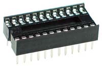24 pin Narrow IC Socket