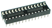 ICS28N - 24 Pin Narrow IC Socket